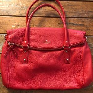 Kate Spade Leather Cobble Hill Leslie Large Bag